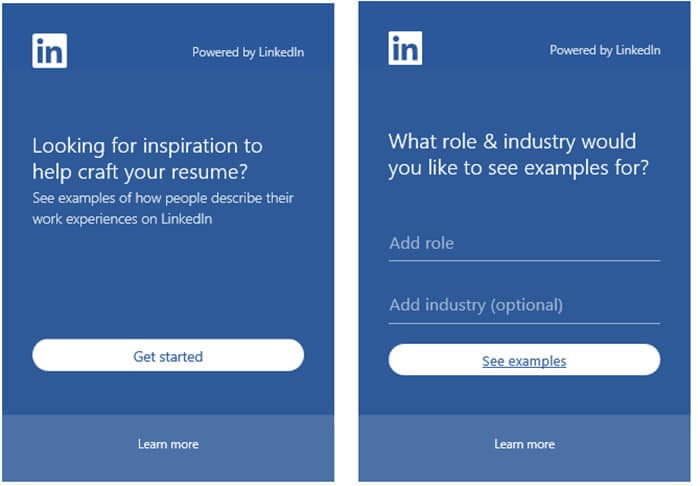LinkedIn Resume Assistant 2