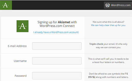 پلاگین Akismet در WordPress.com